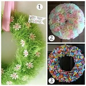 Easter Wreaths Tutorials for Gorgeous Door Decor Love the