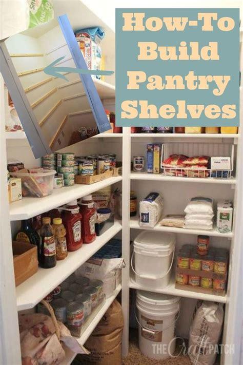 build pantry shelves   studio pinterest