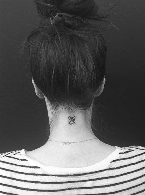 15 Most Attractive Neck Tattoos for Girls | Neck tattoos women, Girl tattoos, Back of neck tattoo