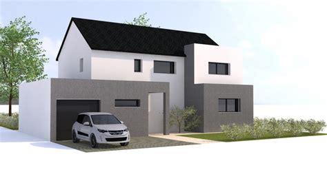 plan maison moderne ille et vilaine