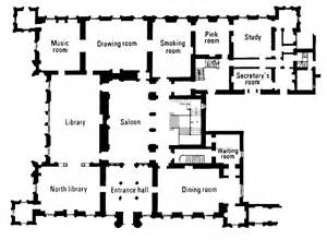 highclere castle floor plan the real downton abbey