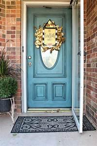 Painted, Front, Door, Colors