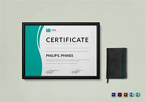 Hospital training certificate design template in psd word publisher illustrator indesign for Indesign certificate template
