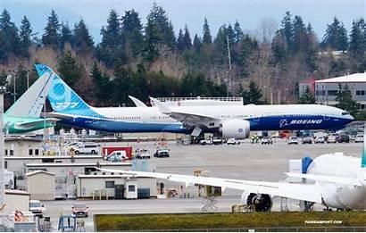 Boeing 777x Flight Test Paint B777x Scheduled