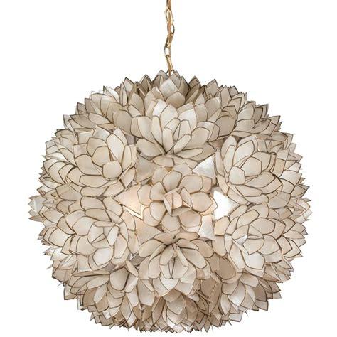 capiz shell chandelier globe capiz shell chandelier 1960s for at