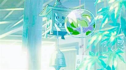 Anime Aesthetic Gifs Heart Scenery Japanese Wind