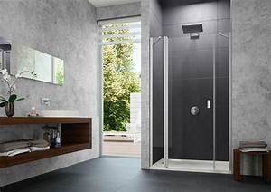 porte de douche new design pure huppe induscabel With porte douche design