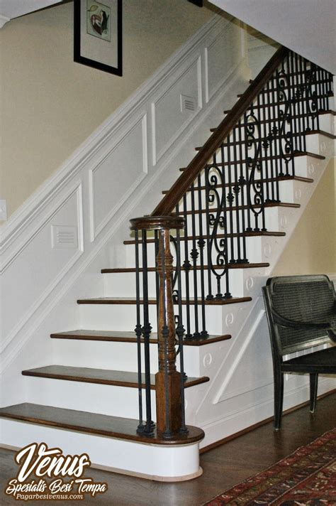 railing tangga venus pagar besi tempa klasik minimalis