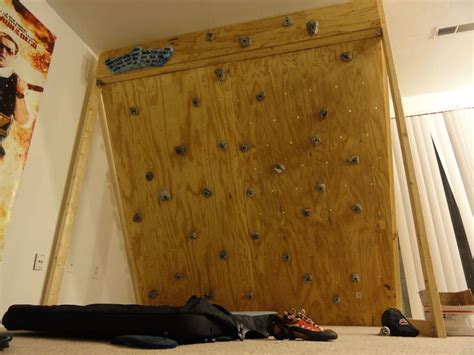 how to build a freestanding wall build your own affordable freestanding climbing wall lifehacker australia