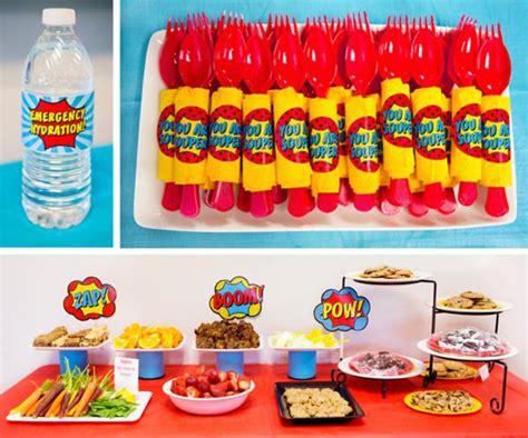kara 39 s party ideas superhero themed staff teacher appreciation week planning ideas