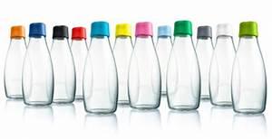 Trinkflasche Glas Kind : mehrweg trinkflasche aus glas mit verschluss ~ Watch28wear.com Haus und Dekorationen