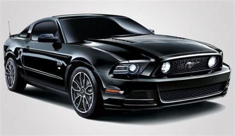 ford mustang  gt coupe  black review top speed