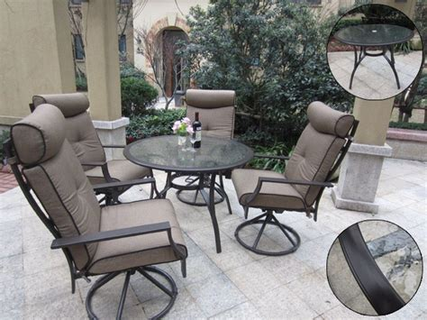 pebble living 5 outdoor dining set with