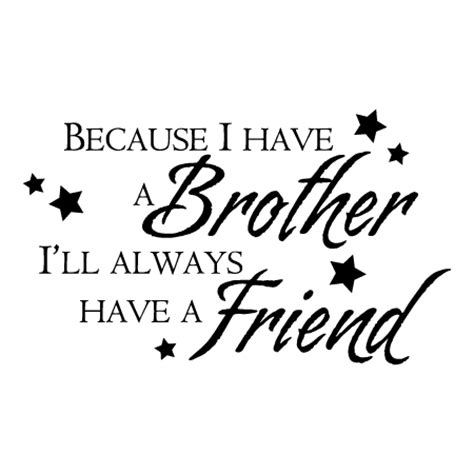 brother wall quotes decal wallquotescom