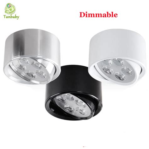 tanbaby 5w dimmable led downlight surface mounted indoor