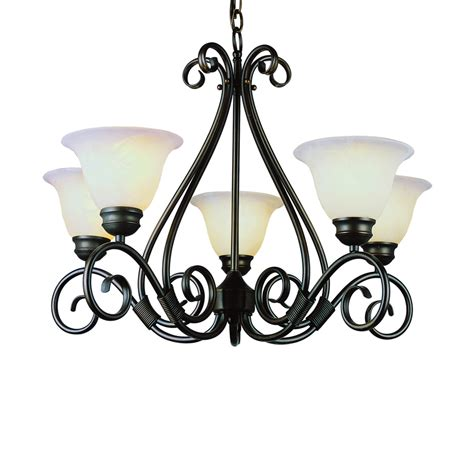 shop bel air lighting new century 5 light rubbed