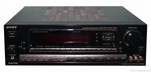 Sony Str-d990 - Manual - Am  Fm Stereo Receiver