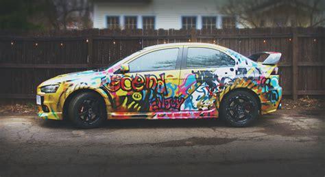 give  car  shitty paint job