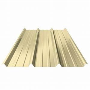 Bac Acier Point P : toiture t le bac acier jaune sable 1ml x 4ml multimat 76 ~ Dailycaller-alerts.com Idées de Décoration