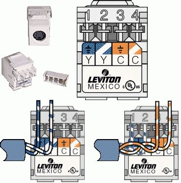 Leviton Cat Jack Wiring Diagram