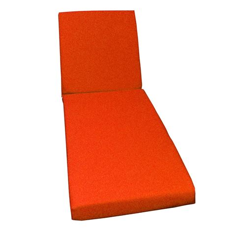 coussin de bain coussin de bain de soleil orange lola 1860 x 56 leroy merlin