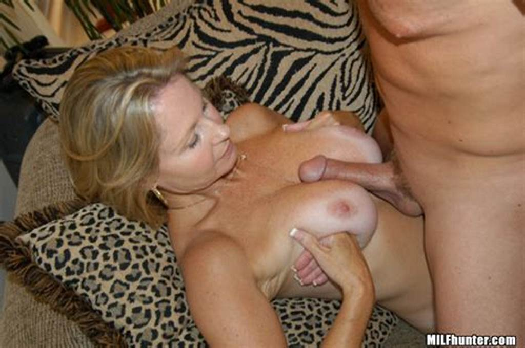 #Milf #Hunter #Gorgeous #Blonde #Milf #Getting #Drilled #Hard #By