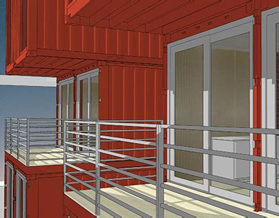 Citrix LEED Gold Shipping Container Office Building on Behance