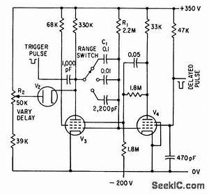 pulse delay circuit diagram pulse waveform wiring diagram With pulse delay circuit