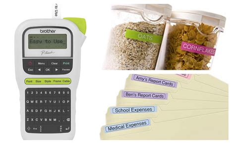 brother p touch label maker ptm  reg