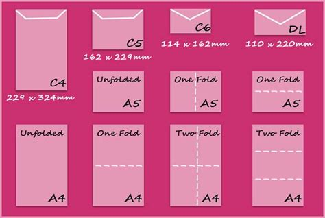 dl envelope size envelope sizes create and craft