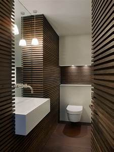 tankless toilet Powder Room Contemporary with downstairs