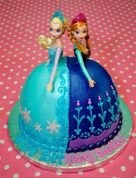 21 Disney Frozen Birthday Cake Ideas and Images - My Happy Birthday Wishes