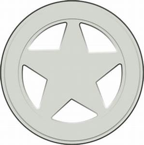 Sheriff Badge Clip Art at Clker.com - vector clip art ...