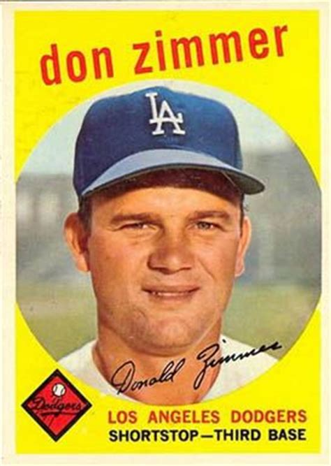 17 Best Images About Baseball Cards 1959 On Pinterest