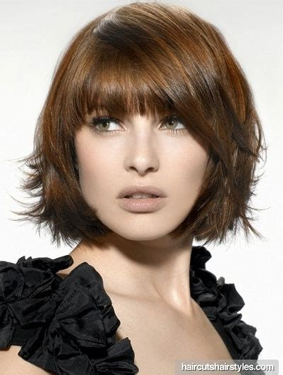 25 short bob haircut styles with bangs layers for women 2014 modern fashion blog