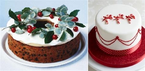 christmas cake decorating ideas pictures