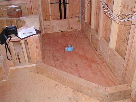 how to build a shower how to build a wooden shower pan build a shower pan on concrete build a shower pan on concrete