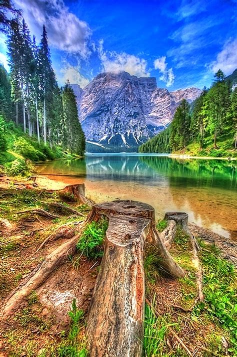 Lake Braies Dolomiti Italy A1 Pictures