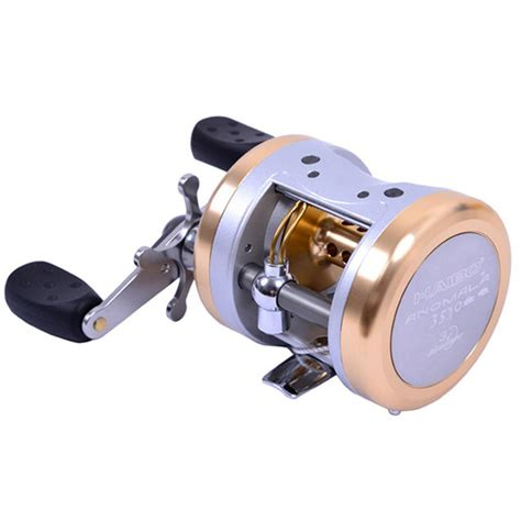 haibo  aluminum drum type alloy baitcasting fishing