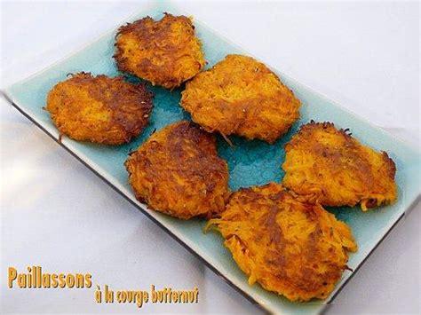 cuisiner une courge butternut paillassons de courge butternut au thym à voir