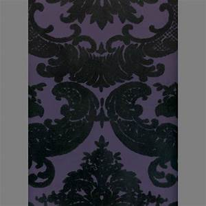 29 best Flocked Velvet Victorian Wallpapers images on ...