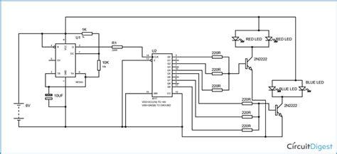 Police Lights Circuit Diagram