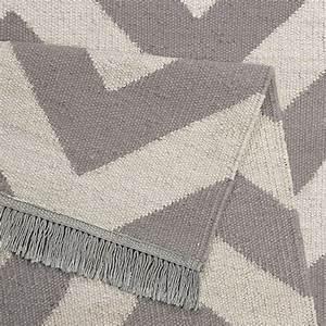 Tapis Blanc Et Gris : tapis gris et blanc moderne zig zag carpets co 160x230 ~ Melissatoandfro.com Idées de Décoration