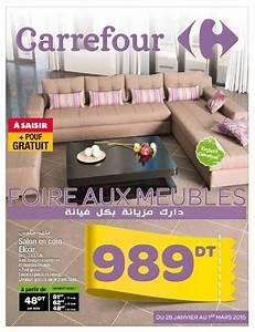 issuu catalogue carrefour quotfoire aux meublesquot by With catalogue carrefour tunisie meubles