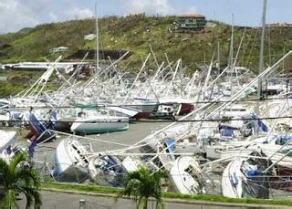 Charter Boat Hits Sailboat by Boat Storage In Hurricane Season Cruisers Sailing Forums