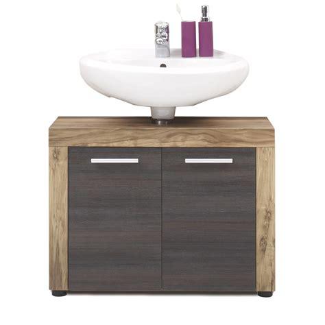 Badezimmer Unterschrank Braun by Unterschrank Cancun Schrank Badezimmer Nussbaum Satin Und