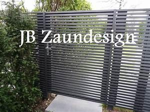 Aluminium Zaun Modern : sichtschutzzaun wpc aluminium aluminiumzaun sichtschutz ~ Articles-book.com Haus und Dekorationen