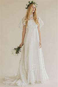 the 6 prettiest 70s inspired wedding dresses princessly With 70s inspired wedding dress