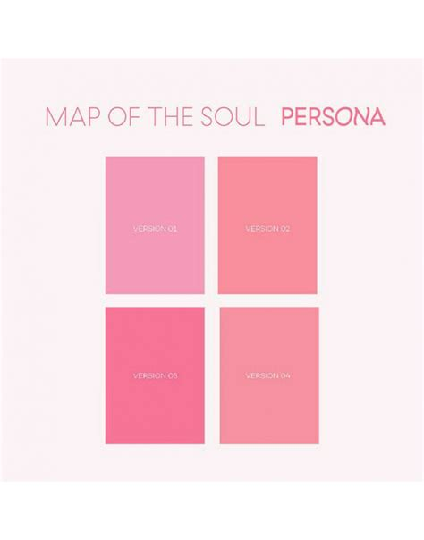 bts map   soul persona cd