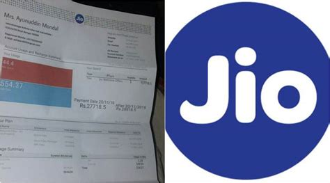the reliance jio bill of rs 27 718 that s viral on social media is sociofly